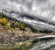 Early Fall Medicine Lake by John Fletcher