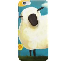 Sheep & Flowers #1 iPhone Case/Skin
