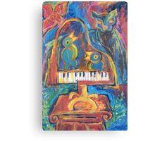 The Recital Canvas Print