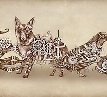 Steampunk Animals 4 by Squidoodle