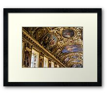 Apollo Gallery Louvre Framed Print