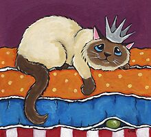 Princess and the Pea by Lisa Marie Robinson