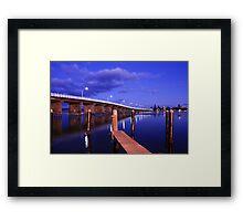 Forster Bridge At Sunrise Framed Print