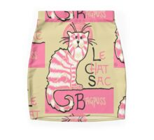 Le Chat Sac Mini Skirt