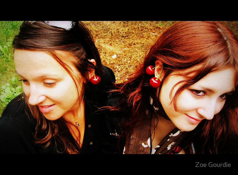 two cherries. by schizomania