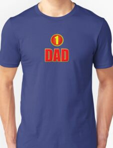 Number 1 Dad - Father's Day T-Shirt Sticker Greeting Card T-Shirt