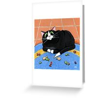 Rug Full o' Fish Greeting Card