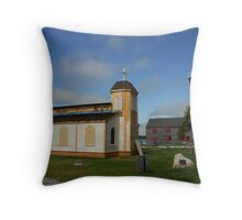 Shelburne, Nova Scotia Throw Pillow