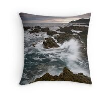 South Coast Bach Splash Throw Pillow