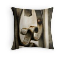 Weathered by time Throw Pillow
