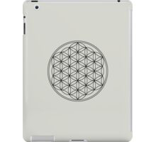 FLOWER OF LIFE - SACRED GEOMETRY - HARMONY & BALANCE iPad Case/Skin