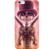 The Wicked Lady - © Art by Élian Black'Mor iPhone Case/Skin
