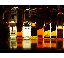 Bottles in a row Photographic Print