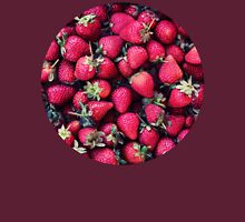 Summer Strawberries Womens Fitted T-Shirt