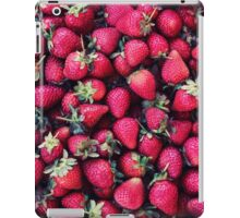 Summer Strawberries iPad Case/Skin