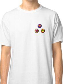 Buttons: Comic Classic T-Shirt