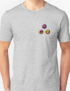 Buttons: Comic Unisex T-Shirt