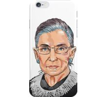 Supreme Court Justice Ruth Bader Ginsburg iPhone Case/Skin