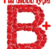 I'm blood type B positive by theimagezone