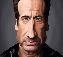 Celebrity Sunday - David Duchovny by robCREATIVE