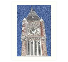 Towers and Turrets (4) Art Print