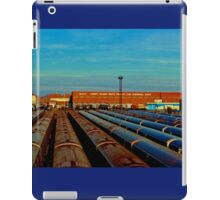 End of the Line (Color Panorama) iPad Case/Skin