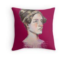 Ada Lovelace - The First Computer Programmer Throw Pillow