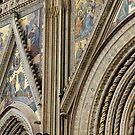 Facade, Orvieto Duomo by Harry Oldmeadow