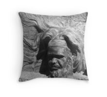 Essence of William Ricketts Throw Pillow