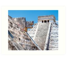 Lost - Chichen Itza Temples - Wonder of the World Art Print