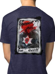 Thompson for Sheriff Tri-blend T-Shirt