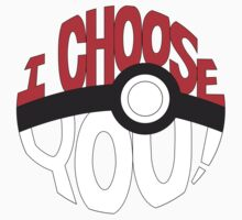 pokemon i choose you! Kids Clothes