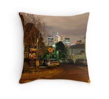 Cnr of Lennox St & Goodwood St, Richmond Throw Pillow