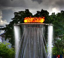 The Olympic Flame by Keith G. Hawley