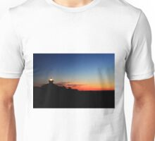 Lighthouse at morning twlight Unisex T-Shirt