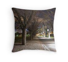MCG Carpark, Melbourne Throw Pillow