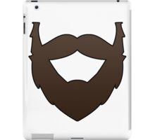 Beards are life. iPad Case/Skin