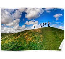 The Future Is Unwritten - Avebury, England Poster