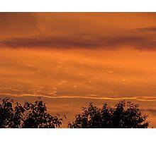 Mars sunset lookalike Photographic Print