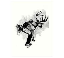 Deer God (Save Us) - Part 4 - Final Inks Art Print