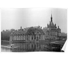 Chateau de Chantilly Poster