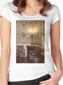 Rococo Architecture Women's Fitted Scoop T-Shirt