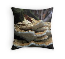 Stacked Up Throw Pillow
