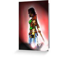 warrior woman Greeting Card