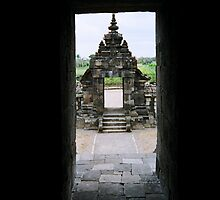 view to  a  candi gopuram by taariqhassan