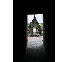 view to  a  candi gopuram Photographic Print