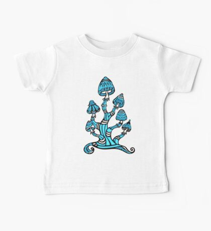 Magic mushrooms, Plants of the Gods, psychedelic, Trance Goa Psy  Baby Tee