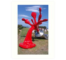 Sculpture by the Sea Exhibition 2 Art Print