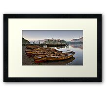 Derwent at Dawn Framed Print