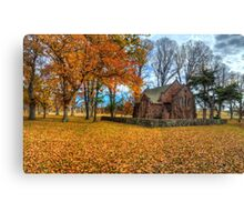 Blessed  - All Saints Church - Gostwyck NSW - The HDR Experience Canvas Print